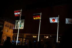 Mobilní vlajkové stožáry