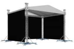 Zastřešené pódium 6x6 m